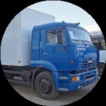 Изотермический фургон (будка) на шасси КАМАЗ