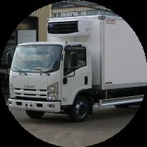 Изотермический фургон рефрижератор