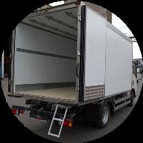 Косметический ремонт стен фургона