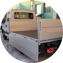 Сервисное обслуживание бортового фургона