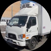 Фургон (будка) на шасси HINO (ХИНО)