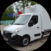 Ремонт фургона рефрижератора Opel