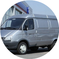 Металлический фургон ГАЗель