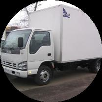 Промтоварный фургон на шасси Isuzu