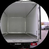 Дверной проём в фургоне